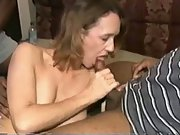 White milf swinger enjoys black cock gangbangs