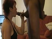 British whore cougar with two highly hard cocks performing on webcam