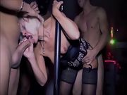 Both anna and mary have a plenty of of sex in the local adult club with the men there